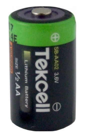 Great Value 1/2 AA Lithium Battery 3.6V | Standard Batteries |  |