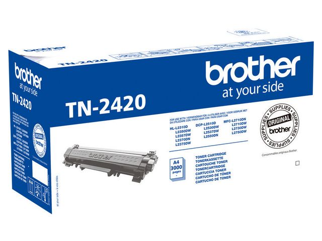 Great Value Brother TN2420 High Capacity Toner | Brother | TN2420 | Brother