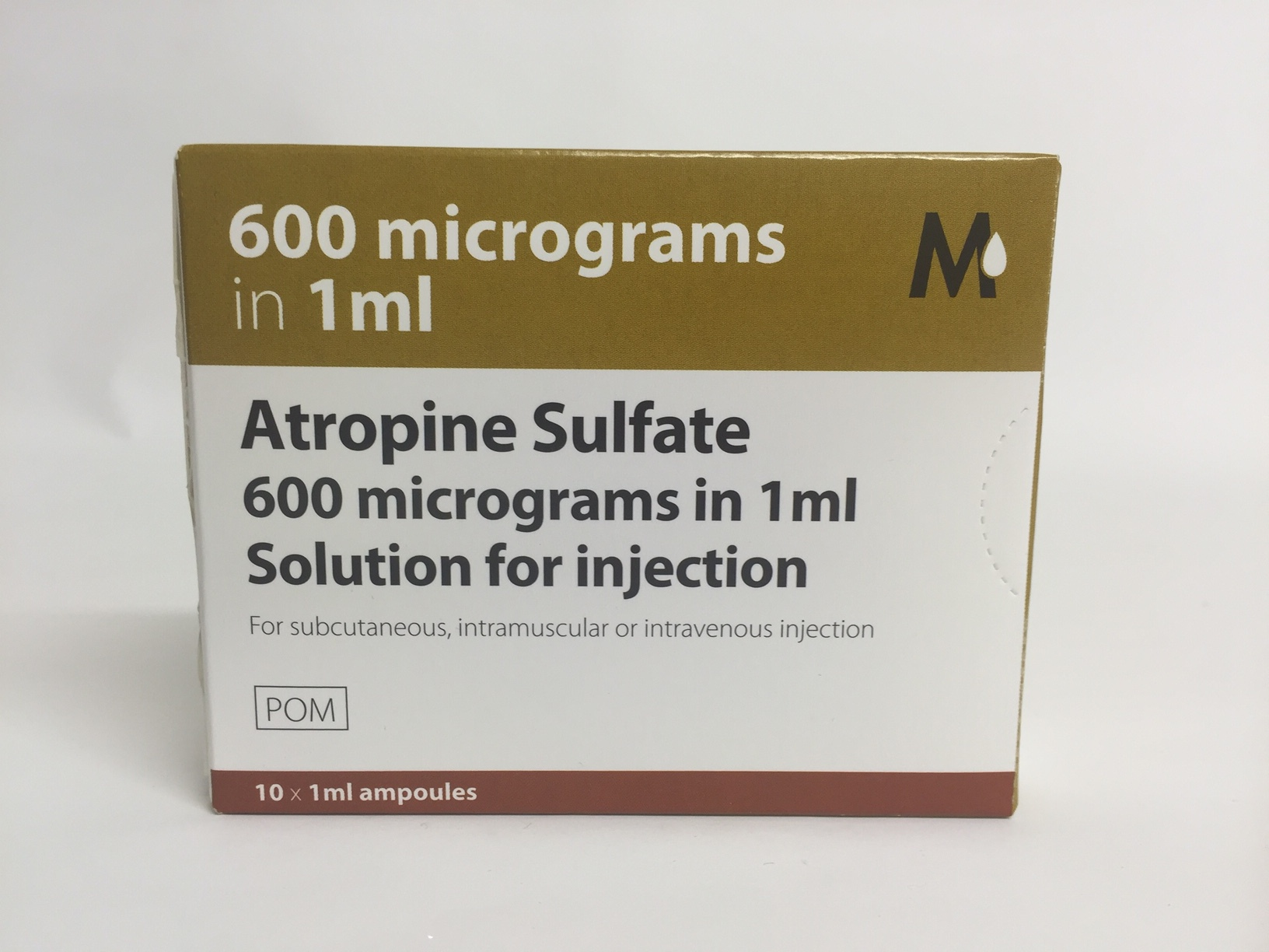 Great Value (POM) Atropine Sulphate Injection 600mcg 1ml | A-C |  |