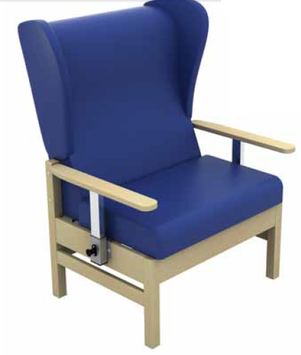 Cheap Atlas High-Back Bariatric Arm Chair with Drop Arms Vinyl Fabric | Visitors & Waiting Room Chairs | SUN-CHA55DA | Sunflower Medical