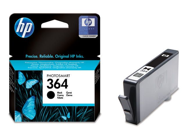 Great Value HP No.364 Ink Cartridge Black | Hewlett Packard | CB316EE | Hewlett Packard