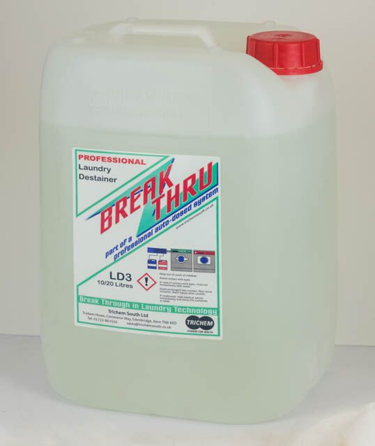 Great Value Standard Peroxy Plus Laundry Destainer 10Ltr | Auto-Dosing Products | LD310 | Trichem