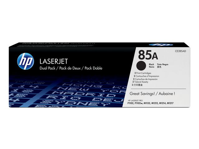 Great Value HP No.85A Black Toner Black | Hewlett Packard | CE285A | Hewlett Packard
