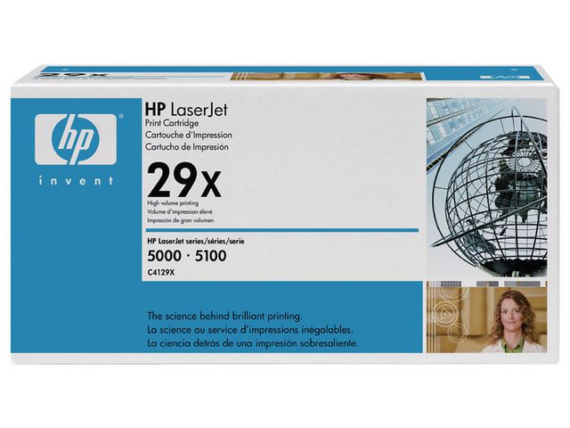 Great Value HP 29X Original Toner Cartridge Black (C4129X) | Hewlett Packard |  |