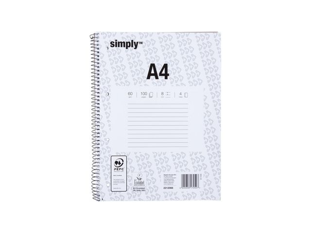 Great Value A4+ Wirebound Notebook | Pads & Note Books | 172527 | Simply