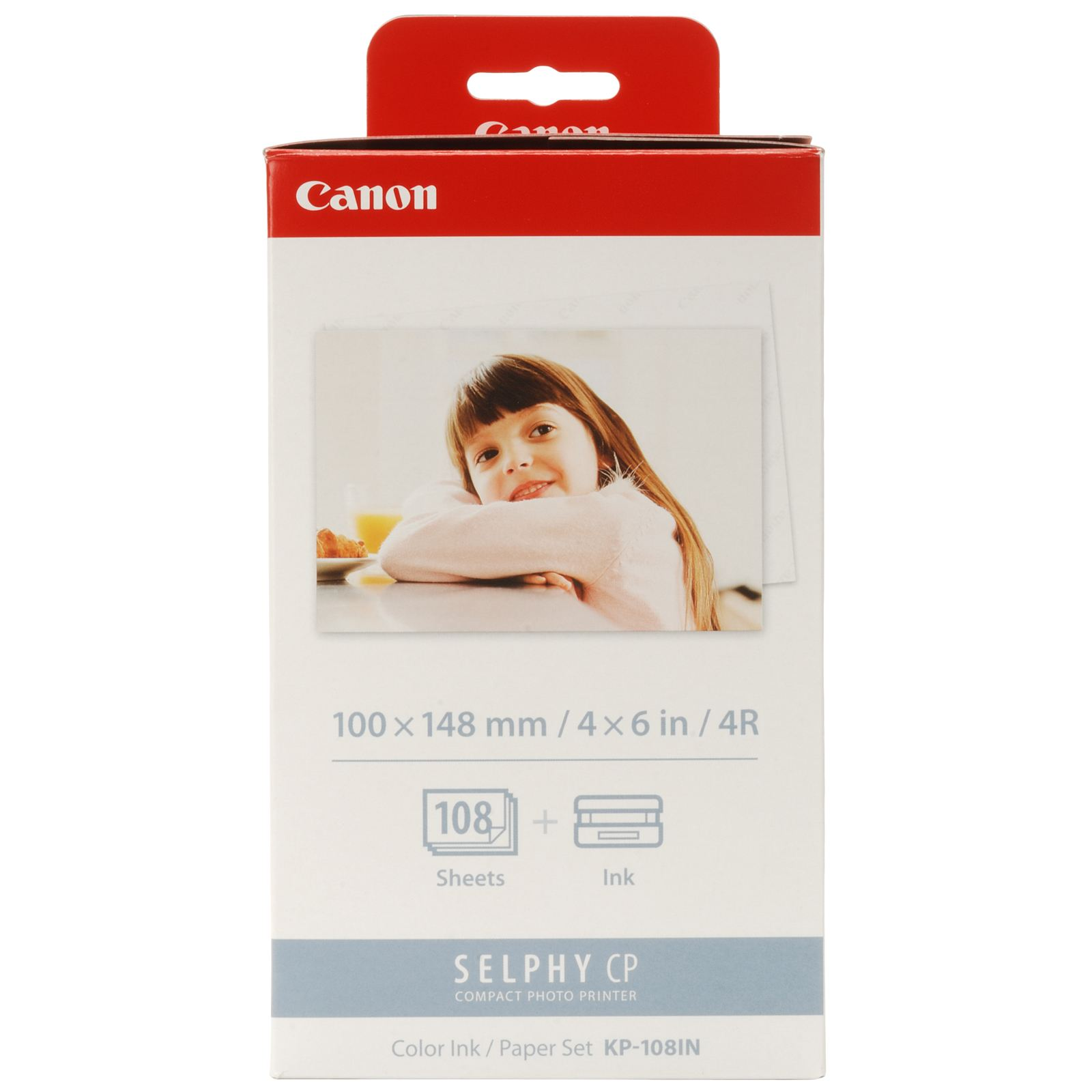 Cheap Canon KP-108IN Ink Casette Multipack & Photo Paper | Canon | 3115B001AA | Canon