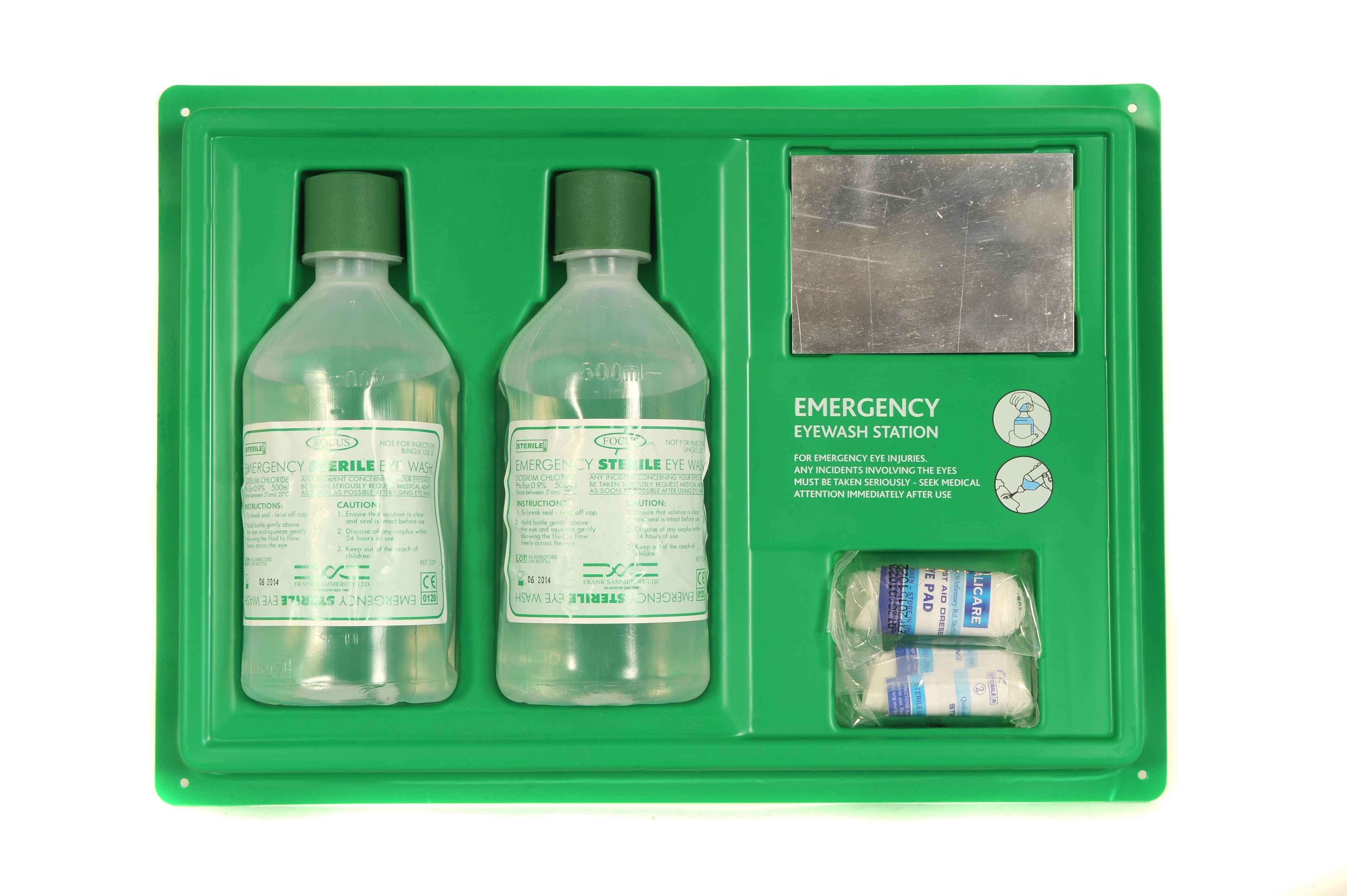 Great Value Emergency Eye Wash Station | First Aid Kits & Supplies |  | [Uk Brands]
