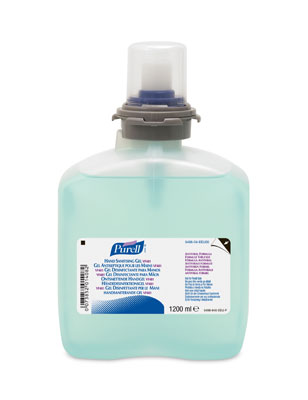 Great Value GoJo Purell Hand Sanitising Antiviral Gel TFX Refill | Hand Sanitisers | 5496-04-EEU00 | Purell