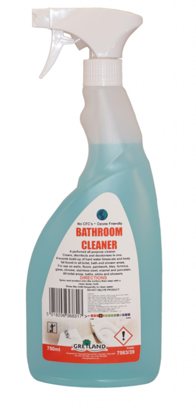 Great Value Bathroom Cleaner 750ml Spray- Pack of 1 | Washroom Cleaners |  |