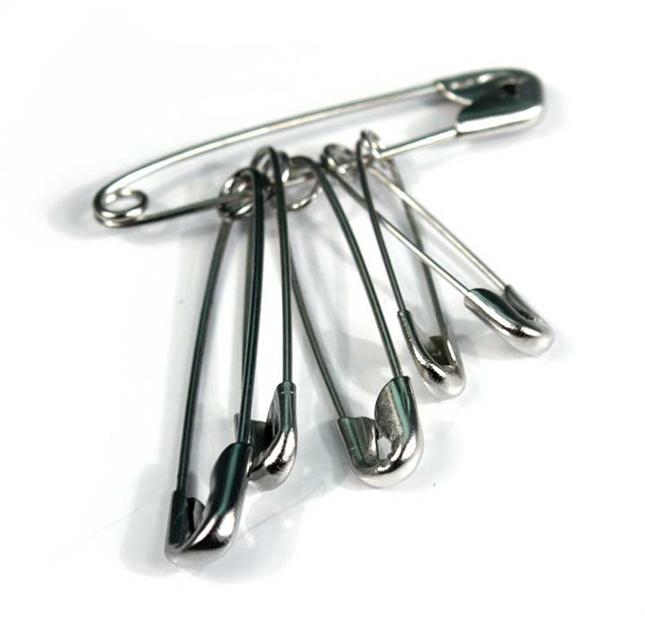Great Value Safety Pins (Pack of 6) | First Aid Kits & Supplies | 5152 | Medical Supermarket