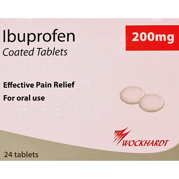 Great Value Ibuprofen 200mg Tablets Pack of 84 | I-O | 012031 | Pharma House