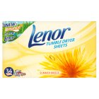 Great Value Lenor Tumble Dryer Summer Breeze Sheets | Conditioners | 101095 | Lenor