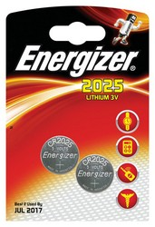 Cheap Energizer CR2025 Lithium Coin Battery | Standard Batteries | 7638900248333 | Energizer