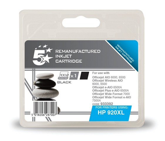 Cheap Compatible HP No.920XL High Capacity Ink Cartridge Black | Compatible |  |
