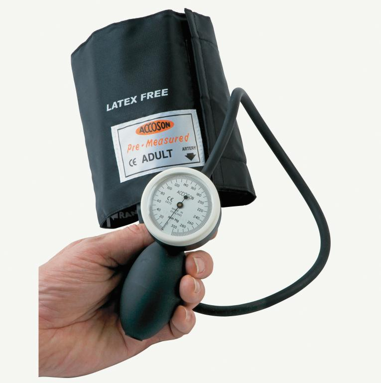 Great Value Accoson Limpet Aneroid Blood Pressure Monitor Straight Tube & Adult Ambidex Cuff | Blood Pressure Monitors | 0292A | Accoson