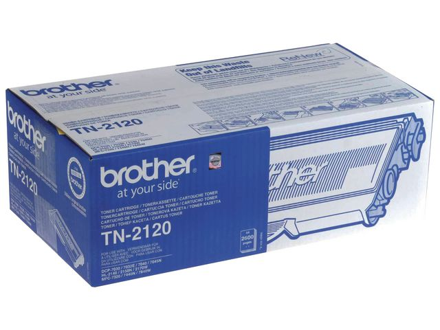 Great Value Brother TN2120 High Capacity Toner | Brother | TN2120 | Brother