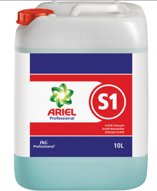 Cheap P&G Ariel Professional S1 Actilift Concentrate Detergent 10L | Auto-Dosing Products | 73655 | Procter & Gamble