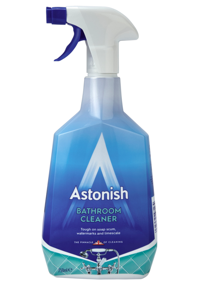 Great Value Trigger Bathroom Cleaner 750ml Pack of 1 | Washroom Cleaners |  | Astonish