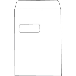 Cheap C4 White Window Envelopes 100gsm, Self Seal | White Business Envelopes |  |