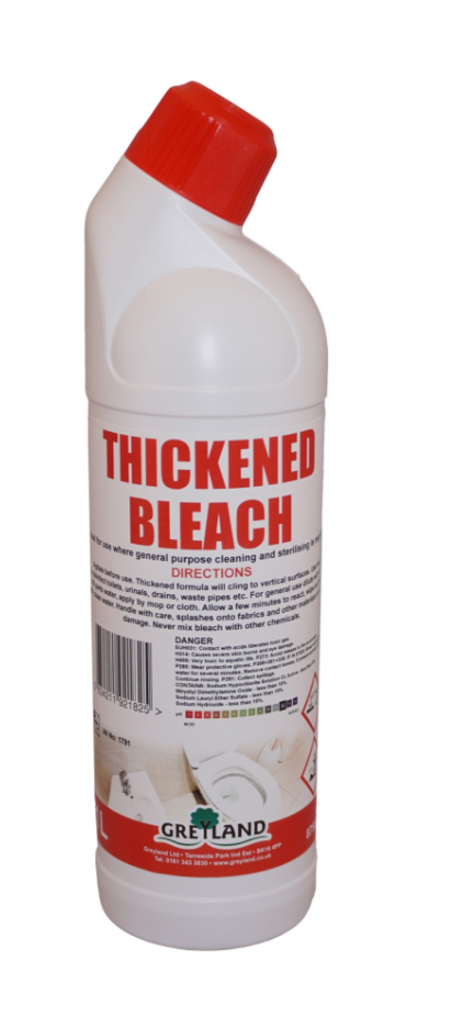 Cheap Thickened Bleach 1 Litre-Pack of 1 | Washroom Cleaners |  |