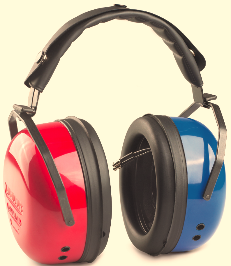 Amplivox Audiocups (Noise reducing headset enclosures) | Medical Supermarket