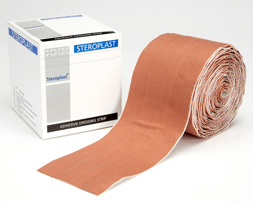 Premium Elastic Fabric Plaster Dressing Strips 4cm x 1m | Medical Supermarket