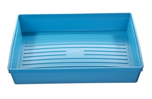 Great Value Warwick Sasco Instrument Blue Tray 300 x 250 x 52mm | Kidney Dishes, Trays & Bowls |  |