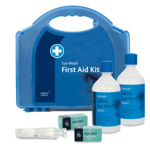Great Value Deluxe Eye Wash Station in Aura Box | First Aid Kits & Supplies |  |