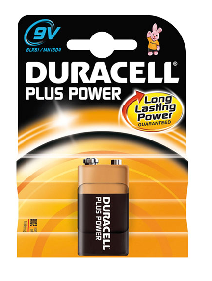 Cheap Duracell Plus Batteries 9V MN1604 | Standard Batteries |  |