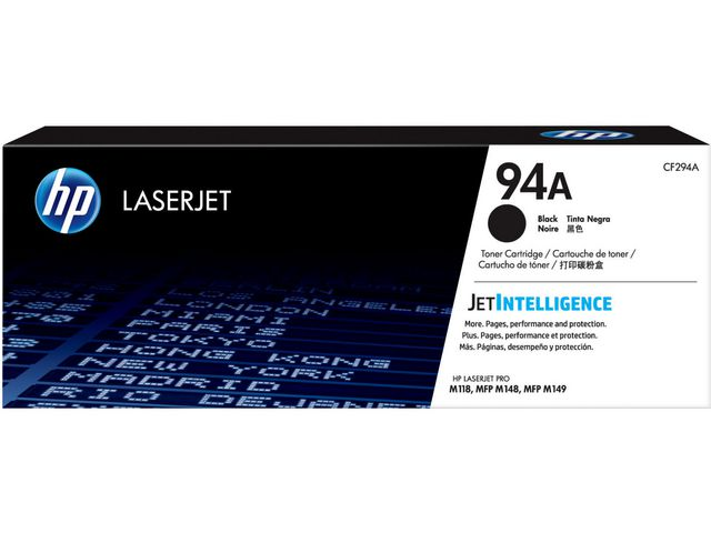 Great Value HP 94A Original Black LaserJet Toner Cartridge | Hewlett Packard | CF294A | Hewlett Packard