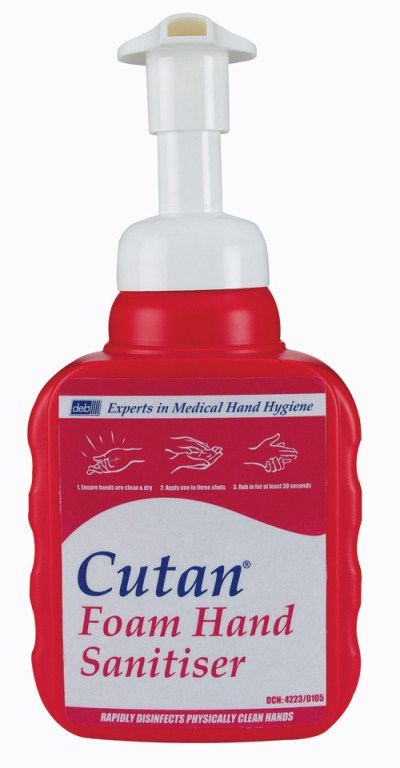 Great Value Deb Cutan Foam Hand Sanitiser Pump Bottle | Hand Sanitisers |  | Cutan