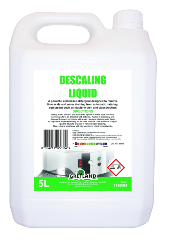 Great Value Descaling Liquid Concentrate 5 Litre - Pack of 1 | Kitchen Cleaners |  |