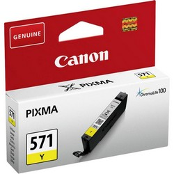 Cheap Canon CLI-571 InkJet Cartridge Page Life 340pp Yellow Ref 0388C001 | Canon |  |