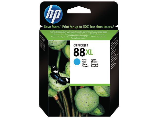 Great Value HP No.88XL High Capacity Ink Cartridge Cyan | Hewlett Packard | C9391AE | Hewlett Packard