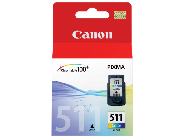 Cheap Canon CL-511 Colour Cartridge | Canon | 2972B001 | Canon