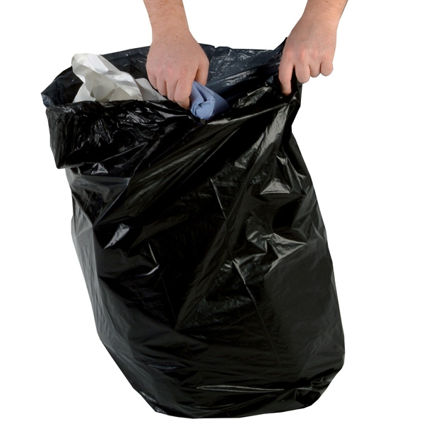 Cheap Light Duty Black Refuse Sacks 90 Litres | Refuse Sacks |  | HPC Healthline