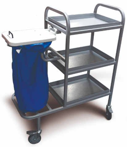 Great Value Bed Changing Trolley with Removable Shelves and Lid | Linen and Laundry Management | LDK/BCT |