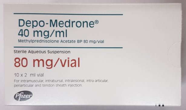 Great Value (POM) Depo-Medrone & Lidocaine 80mg/ml 2ml | D-H |  |